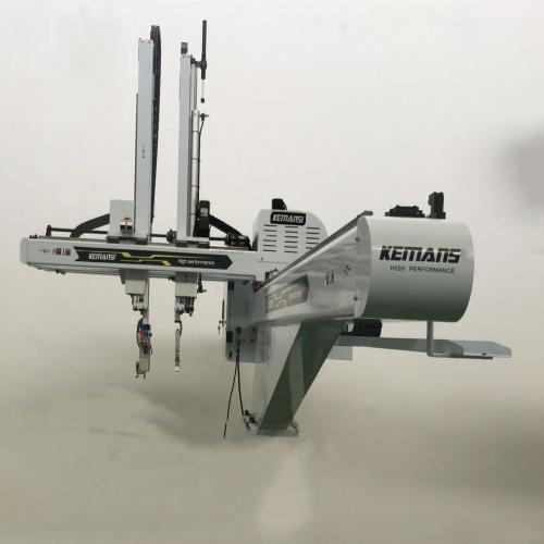 双截双臂三轴电动调位机械手